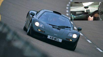Lembrança insana: o dia em que o mito McLaren F1 chegou a 390 km/h (e estabeleceu um recorde)