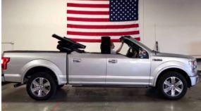 Picape conversível? Agora isso existe e vídeo revela essa Ford F-150 impressionante