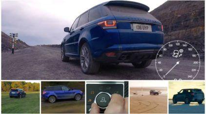 Teste da Arrancada: Range Rover Sport SVR faz 0-100 em asfalto, grama, neve, areia (e mais)