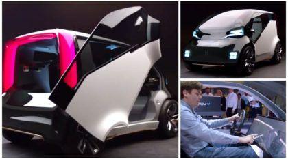 Medo do futuro? Conheça o Honda NeuV, um mini carro elétrico com inteligência emocional