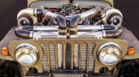 Cadeira Elétrica: conheça o Jeep Willys de 660 cavalos (biturbo) preparado para arracanda