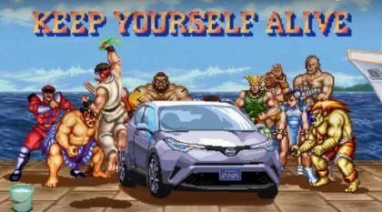 Em homenagem ao lendário Street Fighter II, Toyota lança o melhor comercial do ano para o C-HR