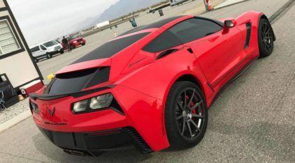 Corvette Perua SW? Reveladas primeiras imagens dessa novidade inacreditável (ao extremo)