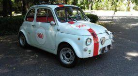 Bellote no AutoVídeos: Veja o ícone Fiat 500 Abarth (na sua versão original) acelerando com estilo