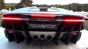 Esse é o ronco (monstruoso) do novo Lamborghini Centenario Roadster