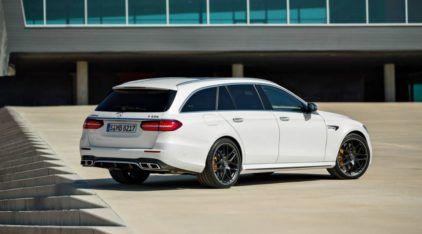 Com motor V8 e 611cv, a nova Mercedes-AMG E63 S Wagon é a perua (rapidíssima) dos sonhos