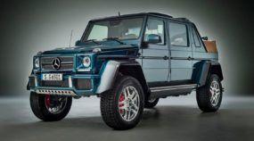 Um Jipe limousine e conversível com 630cv? Sim, acaba de ser revelado o Mercedes-Maybach G 650 Landaulet