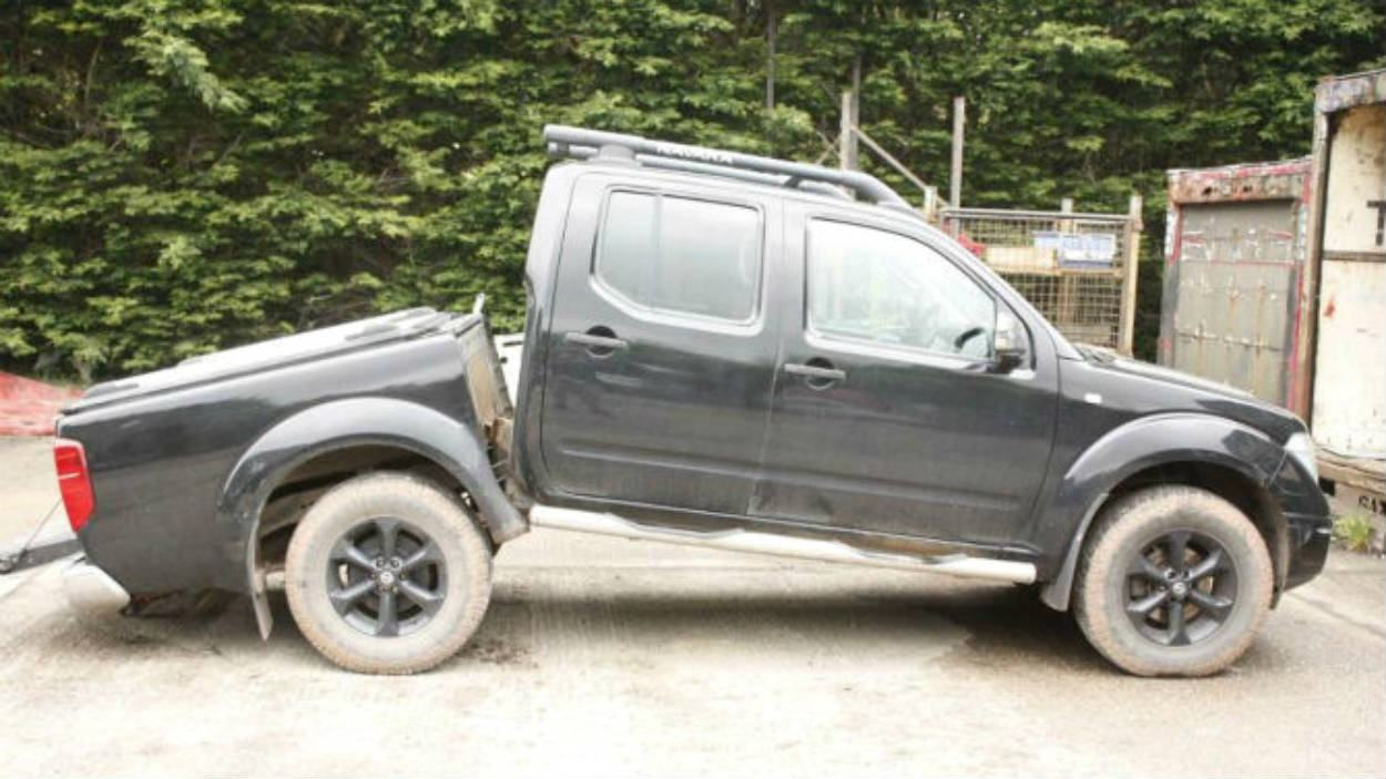 Nissan Frontier Chassi