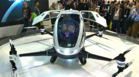 O futuro está chegando: Dubai será primeiro lugar com TÁXIS voadores autônomos (vídeo mostra essa novidade mundial)