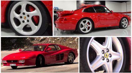 Supercarros dos Anos 90: Porsche 911 Turbo (993) vs Ferrari 512 TR