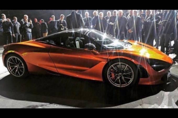 Possível McLaren 720S
