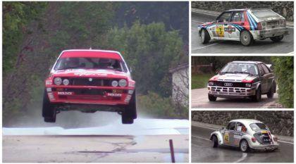 Overdose de Rally: carros de todas as categorias e épocas em ação (de dia e de noite)