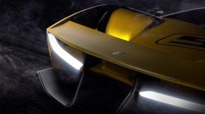 Novíssimo supercarro de Emerson Fittipaldi e Pininfarina terá motor V8 com mais de 600 cv