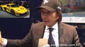 Exclusivo: Emerson Fittipaldi concede entrevista (emocionante) ao AutoVídeos e conta tudo sobre seu novo Supercarro