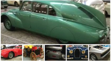 Exclusivo: AutoVídeos mostra a MAIOR Coleção de Carros do mundo (no Museu francês Cité de l'Automobile)