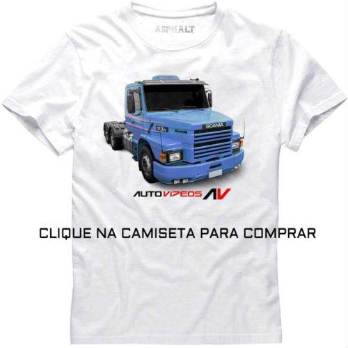 Camiseta Scania 113