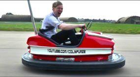 Loucura: em ação o Carrinho Bate-Bate mais rápido do mundo (com direito a Livro dos Recordes)