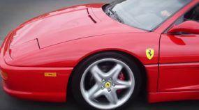 Ferrari 355 Spider impecável roda no Brasil (e foi trocada, pau a pau, por um Impala 1959)