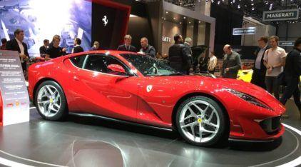 Salão de Genebra (dia 2): Ferrari 812 Superfast, McLaren 720S, Novo Fiesta, Kombi do futuro e muito mais