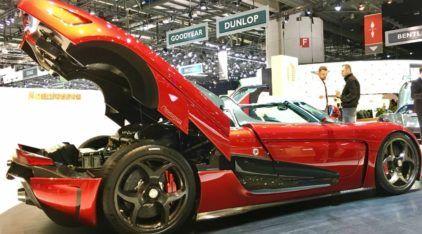 Salão de Genebra (dia 4): Koenigsegg Regera, Chevrolet Colorado, novos Astra e Zafira, Evoque conversível e muito mais