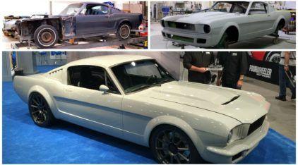 Do Ferro Velho para o Estrelato: Detalhes da restauração do Ford Mustang 1965 Fastback premiado pela Ford