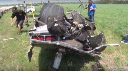 Vídeo: Piloto escapa ileso de acidente impressionante com Camaro de arrancada (em alta velocidade)