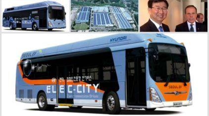 Hyundai poderá ter fábrica de ônibus no Brasil