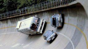 É assim que era o impressionante Centro de Testes da Mercedes-Benz antigamente