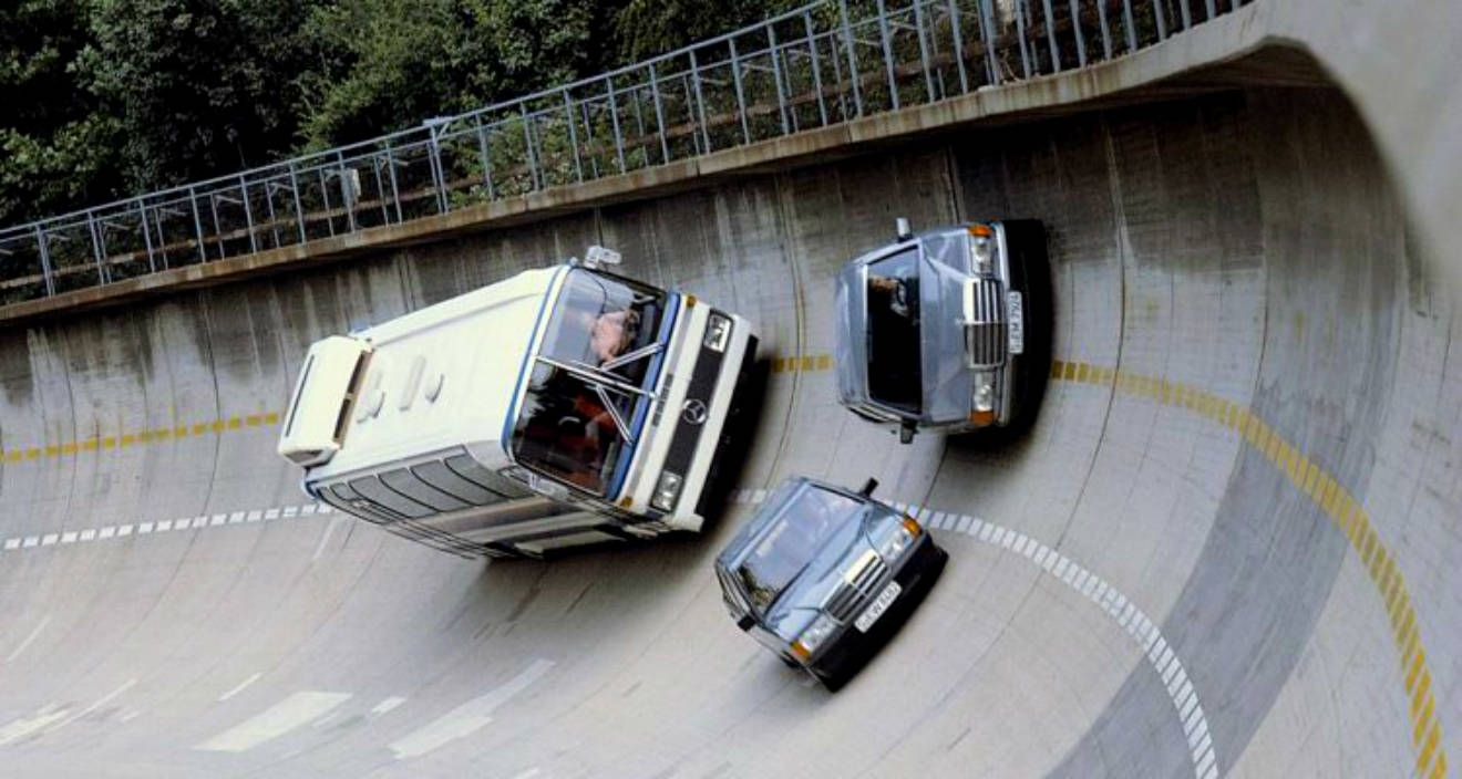 Pista de Testes - Mercedes-Benz