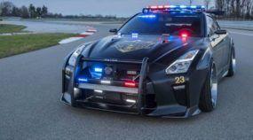 Nissan transforma o GT-R na mais extrema Viatura de Polícia