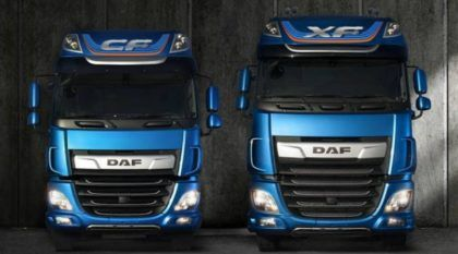 Lançamento: DAF apresenta novos modelos de caminhões CF e XF