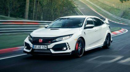 Deixando o VW Golf para trás, novo Honda Civic Type R bate recorde (de tração dianteira) em Nürburgring