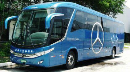 Ônibus inteligente no Brasil? Modelo da Mercedes-Benz freia sozinho, tem radares e muita tecnologia embarcada