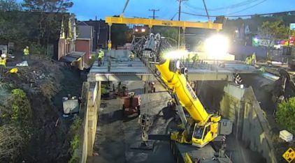 Em apenas 57 horas (e com 20 funcionários) Ponte é demolida e reconstruída nos Estados Unidos