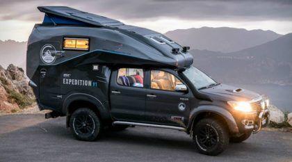 Toyota Hilux Expedition: Vídeo revela essa Picape Camper dos sonhos (para aventuras off-road)