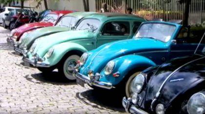 Advogado brasileiro tem uma coleção de Fusca avaliada em R$ 5 milhões
