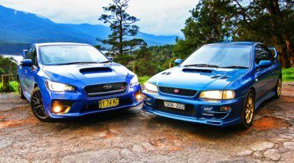 Lenda japonesa em detalhes: vídeo reúne carros Subaru versão STI de 1992 a 2016