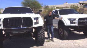 Picape Raptor ainda mais brutal: Conheça agora a monstruosa Ford F250 MegaRaptor
