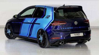 Criado por estagiários da VW, esse é o primeiro Golf GTI Híbrido 4x4 (que tem 410 cv)