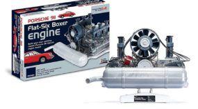 Esse é o Kit dos sonhos para montar em casa o Motor Boxer do Porsche 911 (Vídeo mostra como funciona)