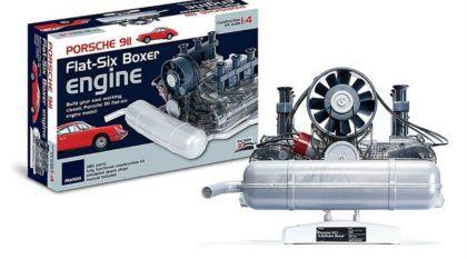 Esse é o Kit dos sonhos para montar o Motor Boxer do Porsche 911 (Vídeo mostra como funciona)