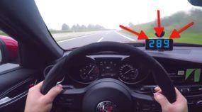 Alfa Romeo Giulia Quadrifoglio mostra na Autobahn como é rápido e gostoso de pilotar