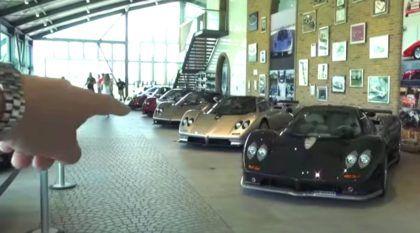 Veja a coleção (e o museu) de Horacio Pagani em uma visita de mais R$ 400 milhões
