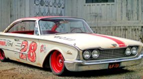 Projeto insano: Ford Starliner 1960 (Galaxie fastback) inspirado na NASCAR