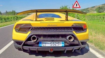 Test Drive! Lamborghini Huracán Performante finalmente desfila (e acelera) nas ruas