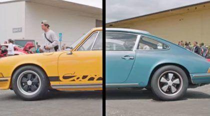 Evento incrível reúne coleções e modelos Porsche muito raros, clássicos e cheios de história