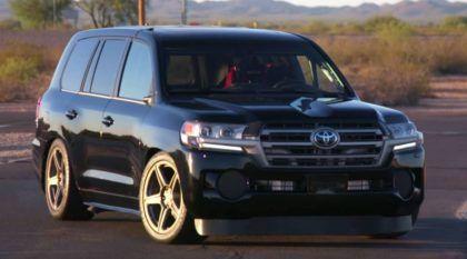 Recorde insano: Esse Toyota (com motor V8 de 2000cv) é o SUV mais rápido do mundo