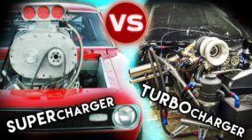 Aumente o som! Turbo vs Supercharger, a batalha dos preparados pelo ronco perfeito (e mais alto)