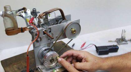 Brasileiro cria motor caseiro de 4 tempos (Vídeo mostra detalhes e o funcionamento surpreendente)