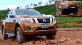 Afinal, como é a nova Nissan Frontier? Vídeos mostram avaliações completas (incluindo no off-road)